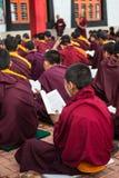 Monges budistas Foto de Stock