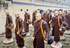 Monges budistas falsas Foto de Stock Royalty Free