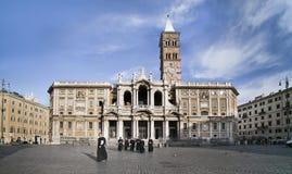 Monges da capela de Roma no dia foto de stock
