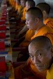 Monges Praying Imagem de Stock Royalty Free