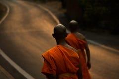 Monges tailandesas Imagens de Stock Royalty Free