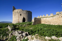 Mongialino's Castle. Mongialino Castle very old medieval castle in Mineo country - Catania - Sicily - Italy Stock Photography