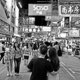 Mongkok district Royalty Free Stock Photos