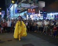 Mongkok at night Stock Photography