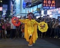 Mongkok at night Royalty Free Stock Images