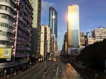 Mongkok wschód Obraz Royalty Free