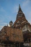 Mongkol de Wat yai chai, Ayutthaya Imagen de archivo