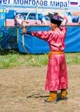 Mongoł Archer obraz stock
