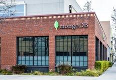 MongoDB办公室在帕洛阿尔托 库存图片