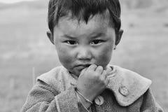 Mongol child Stock Photography