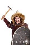 Mongol wojownik w zbroi obraz royalty free