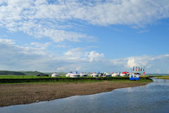 Mongolei-Pakete lizenzfreies stockbild