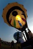 Mongolfiera nel festival internazionale 2009 del pallone della Tailandia Fotografia Stock Libera da Diritti