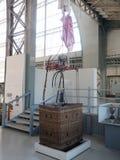 Mongolfiera storica sul museo reale dell'esposizione delle FO munite Immagini Stock Libere da Diritti