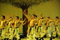Mongolië mens-2011 dansende het Overlegpartij van de klassengraduatie Royalty-vrije Stock Afbeelding