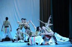 Mongolië mens-2011 dansende het Overlegpartij van de klassengraduatie Stock Fotografie