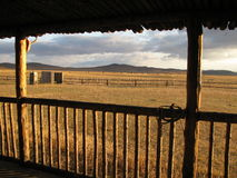 Mongolia. Steppe in autumn colours Stock Image