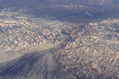 Free Mongolia Aerial View Of Mountains Covered With Snow In The Spring Stock Footage Video Royalty Free Stock Photography - 101445747