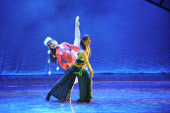 Mongolia Ballet-The dance drama The legend of the Condor Heroes Stock Photography