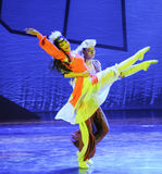 Mongolia Ballet-The dance drama The legend of the Condor Heroes Royalty Free Stock Photography