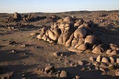 Mongolia. The big desert in mongolia, asia Stock Image
