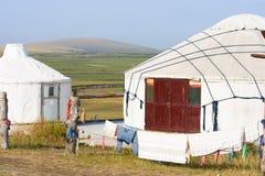 Mongolia Interna Jinzhanghan che visita tribù fotografia stock libera da diritti