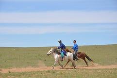 Mongolia Knights Stock Photo
