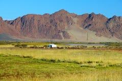 Mongolia landscape Stock Photo