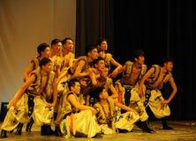 Mongolia man-2011 dancing class Graduation Concert party Royalty Free Stock Photography