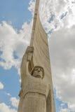 Mongolia - monumento de Ulaanbaatar - de Zaisan Foto de archivo