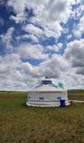 Mongolia package Yurt Royalty Free Stock Images