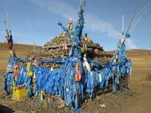 Mongolia - religion symbol of Mongolia Stock Photo