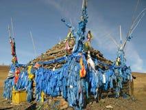 Mongolia - religion symbol of Mongolia (ovo) Royalty Free Stock Image
