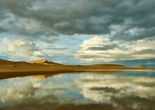 Free Mongolia. Sands Mongol Els, Sandy Dune Desert Royalty Free Stock Photography - 152227187