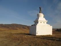 Mongolia - símbolo tradicional de la religión Fotos de archivo libres de regalías
