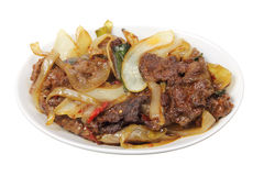 Mongolian Beef Stock Photography