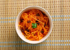 Mongolian Carrot Salad Royalty Free Stock Photo