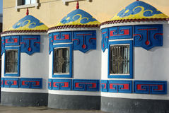 The Mongolian characteristic window decoration Royalty Free Stock Images