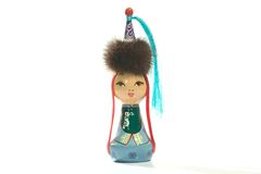Mongolian doll Royalty Free Stock Photography