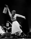 Mongolian ethnic dancer Royalty Free Stock Image