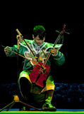 Mongolian ethnic music Stock Images