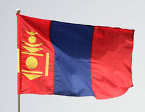 Mongolian Flag Royalty Free Stock Images