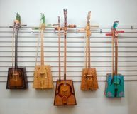 Mongolian folk instrument Royalty Free Stock Photography