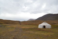 Mongolian Ger. These wonderfull tents suport the nomads of Mongolia Royalty Free Stock Images