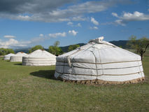Mongolian Gers Royalty Free Stock Photos
