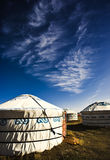Mongolian home Stock Images