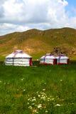 Mongolian home Stock Image