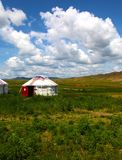 Mongolian home Royalty Free Stock Photography