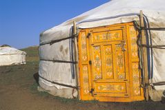 Mongolian home Stock Photography