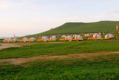 Mongolian home Stock Photo